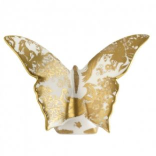 Royal Crown Derby Gold Aves Butterfly Paperweight